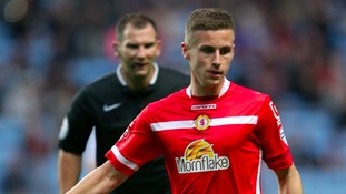 Ryan Colclough will spend the season with MK Dons.