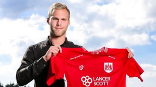Bristol City sign highly-rated Sweden striker Gustav Engvall from IFK Gothenburg