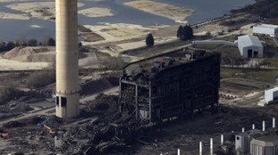 Body discovered in Didcot power station collapse