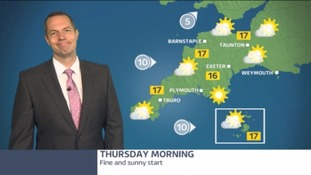 SW weather - how is September starting off?