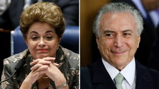 Dilma Rousseff's successor sworn in after she is ousted from office
