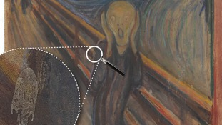 Scientists solve white mark mystery in The Scream