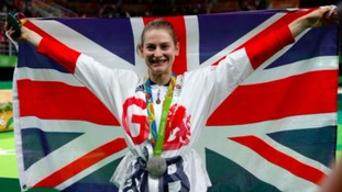 Bryony Page returns to home training base