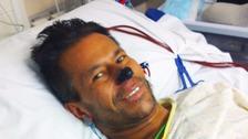 Leg amputee ex-policeman tells of horrific sepsis ordeal