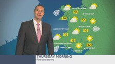 Wales weather: a fine and sunny start to the day