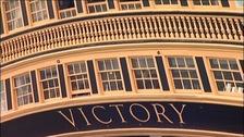 HMS Victory stern