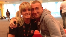 Carley Armstrong with Christopher Maloney
