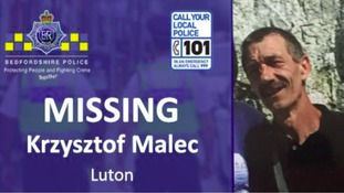 Krzysztof Malec as last seen on Wednesday August 31.
