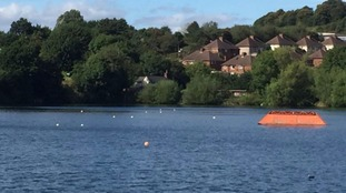 Teenager rescued from reservoir after water ski accident
