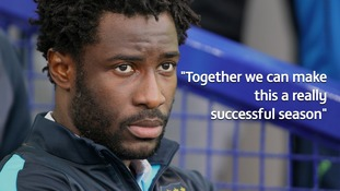 Striker Wilfried Bony says joining Stoke City on loan was 'far too tempting to turn down'