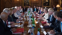 Brexit: PM and ministers on the road as new talks begin