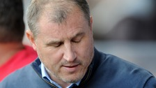 Under pressure Town boss Paul Jewell