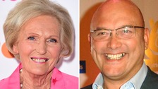 The London Fire Brigade has defended Mary Berry after she was criticised by Greg Wallace