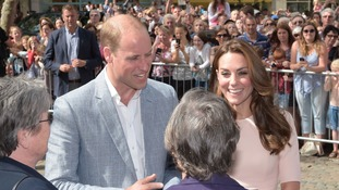 In pictures: Duke and Duchess of Cambridge visit Cornwall