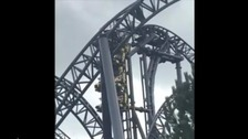 Photos of the Smiler Ride incident