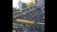 Photo of the Smiler ride