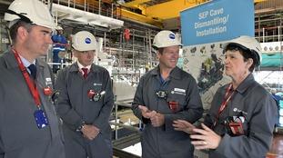 Energy Minister praises Sellafield's workforce