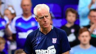Mick McCarthy was unable t add any more players to his forward department.