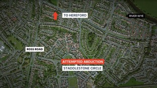 Police investigate 'attempted kidnapping of nine-year-old girl' in Hereford