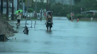 Flooding hits Florida as Hurricane Hermine makes landfall