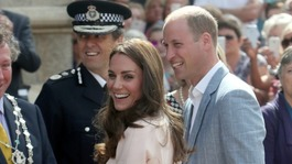 Duke and Duchess of Cambridge visit the West Country