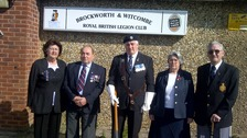 Members of Brockworth's Royal British Legion