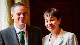 Jonathan Bartley and Caroline Lucas