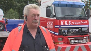 Kenny Robertson of K. R. S. Dumfries.
