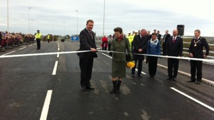 Princess Royal opens new Northside Bridge