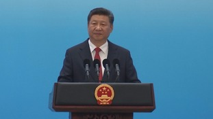 Xi Zinping welcomed leaders to the G20 summit in Hangzhou.