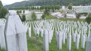 Graves at Srebrenica, Bosnia