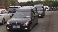 The funeral for the Hawe family has been held in Co Cavan.