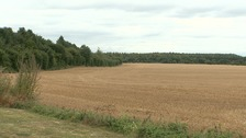 Lord Derby had submitted plans to build 400 homes on HatchField Farm