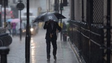 People in the West are being told to brace themselves for a deluge of rain this evening.