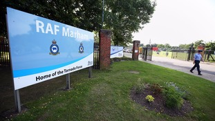 Attempted abduction 'turned RAF airman's world upside down'