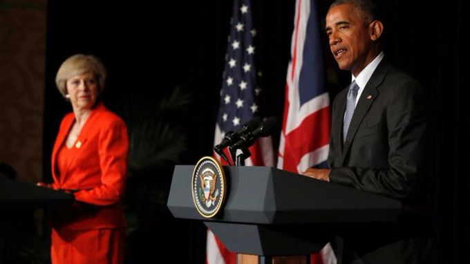 President Obama said the 'special relationship' between the two countries will grow