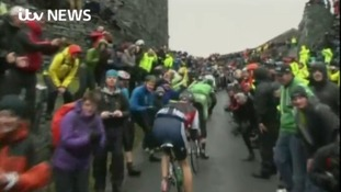 The Tour of Britain always draws in the crowds