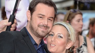 Danny Dyer marries partner after sleepless night
