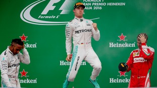 Nico Rosberg wins Italian GP to close gap on Lewis Hamilton in Championship to just two points