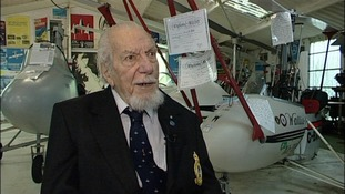 Ken Wallis, 96, gets aerospace accolade