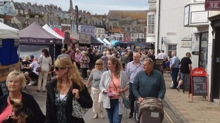 Waterfest a splash in Weymouth