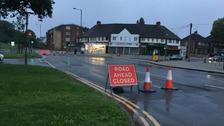 Longbridge Lane closed
