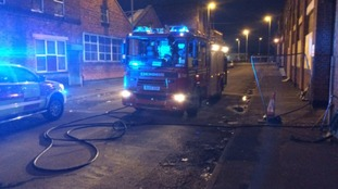 'Severe' fire at disused factory in city centre