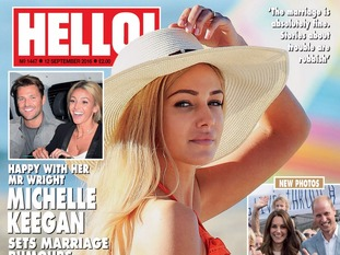 Tina Hobley spoke exclusively to Hello! magazine