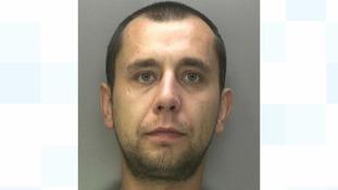Man jailed for 'terrifying' rape at woman's flat