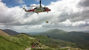 Record number of call-outs for Snowdon rescue team