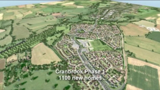 Cranbrook town graphic