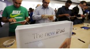 Apple's last iPad launch was of a product called 'New iPad'