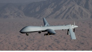 Drones are frequently used during conflicts. This is a US Air Force Predator Drone