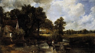 Constable's The Hay Wain.
